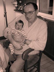 Simon 1 mois et Bouba